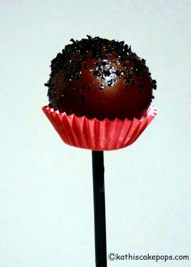 Schokoladen-Cake-Pop