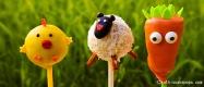 Cake-Pops für den Ostertisch