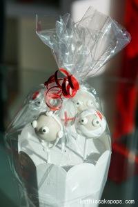 Arzt und Patienten Pops in Geschenksverpackung