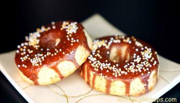 Baileys Donuts für Weihnachten